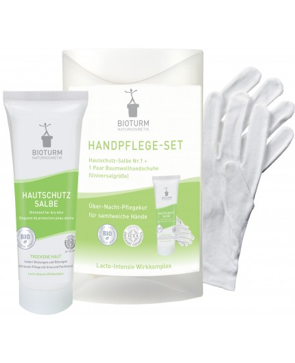 Bioturm Hand care kit with gloves, 50ml