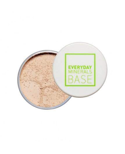 Everyday Minerals Semi-Matte Base 4W Golden Medium, 4.8g