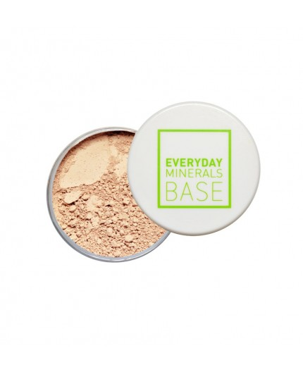 Everyday Minerals Semi-Matte mineralinė pudra 4N Medium, 4.8g