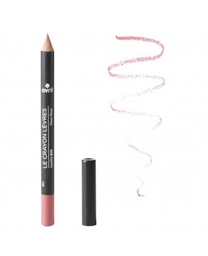 Avril Lip pencil Vieux Rose Certified organic, 1g