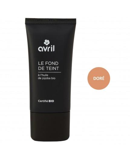 Avril Foundation Doré Certified organic, 30ml