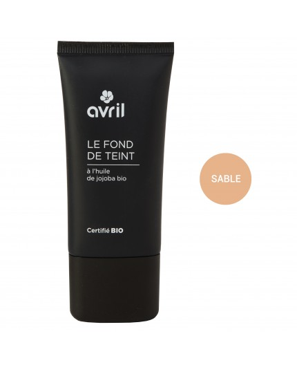 Avril Foundation Sable Certified organic, 30ml