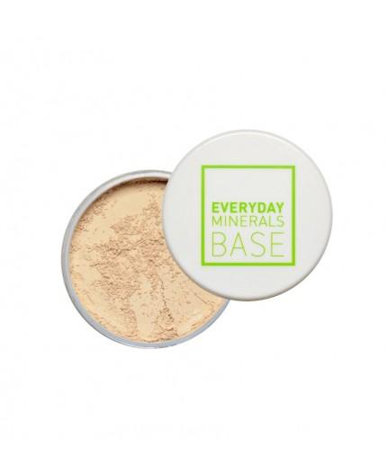 Everyday Minerals Semi-Matte Base 3W Golden Beige, 4.8g