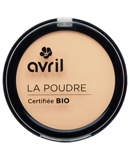 Avril Compact powder Porcelaine Certified organic, 7g