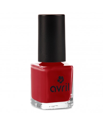 Avril Nail polish Rouge Opéra n°19, 7 ml