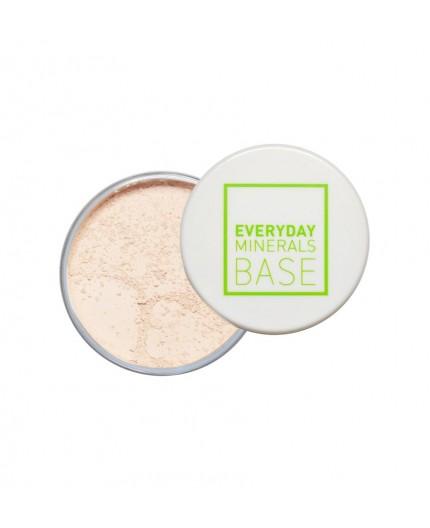 Everyday Minerals Semi-Matte Base 3N Beige, 4.8g