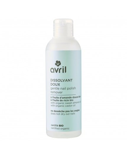 Avril Gentle nail polish remover Certified organic