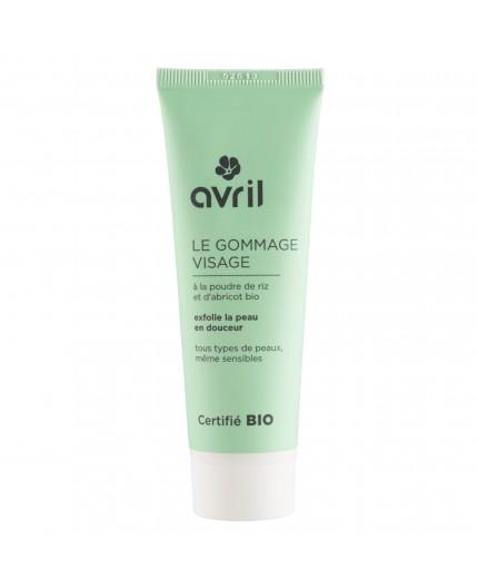 Avril Face scrub Certified organic, 50ml