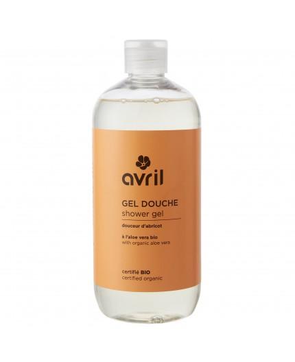 Avril Shower gel Apricot Certified organic, 500ml