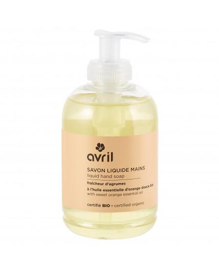 Avril Liquid hand soap Citrus Fruit Certified organic, 300 ml