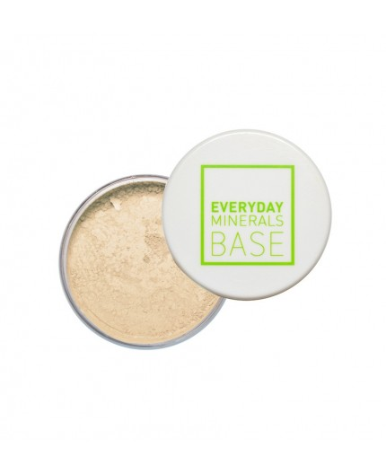 Everyday Minerals Semi-Matte Base 1W Golden Ivory, 4.8g